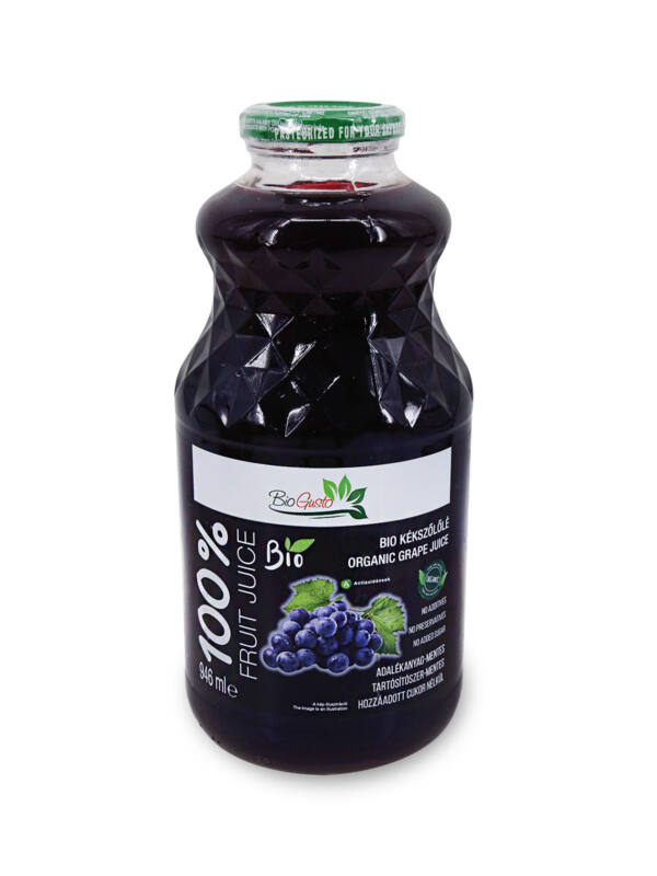 SETINO BIO 100% Kékszőlőlé, 946 ml (HU-ÖKO-02)