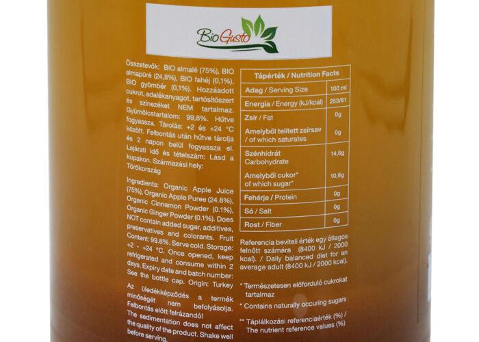 SETINO BIO DETOX 100% gyümölcslé, 946ml (HU-ÖKO-02)